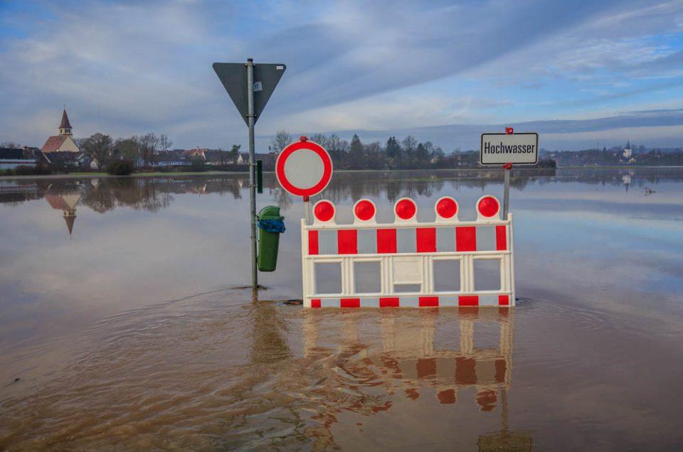 Hochwasser an der Aisch