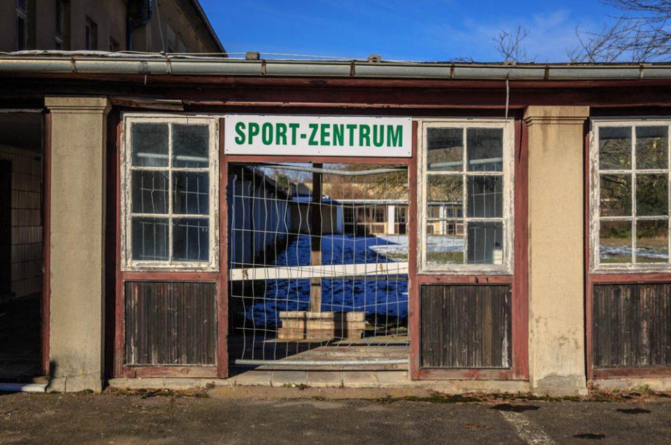 Napola bzw Schulungszentrum Großer Ziegenberg