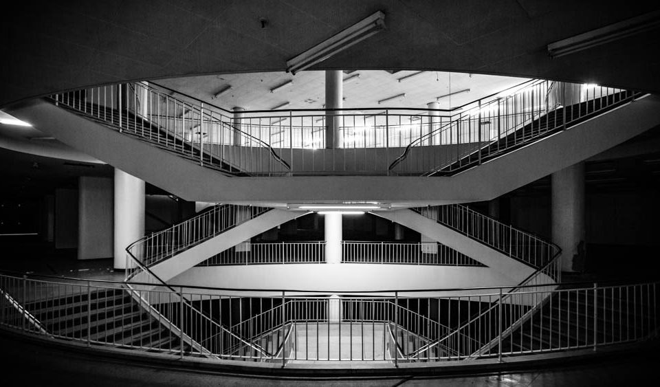 Treppe im Schocken