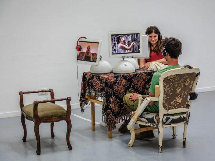 Menschen und Situationen in Ausstellungen oder im Museum