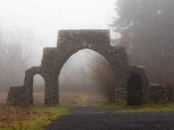 Nebel in der Rhön