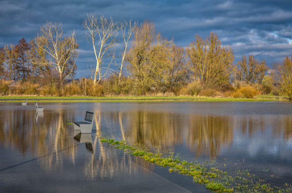 Hochwasser  in Höchstadt