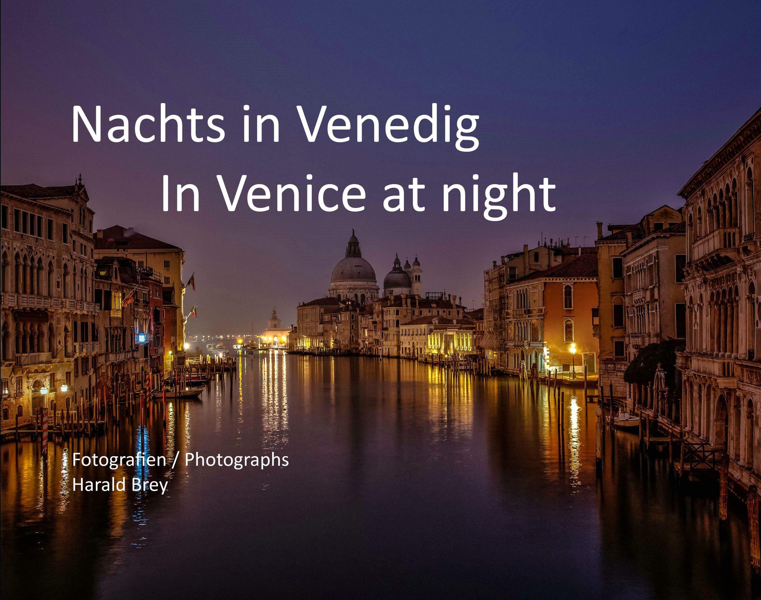 Bildband Nachts in Venedig