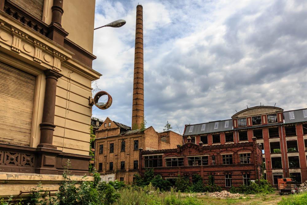 in 3D die Tuchfabrik in Forst (Lausitz)