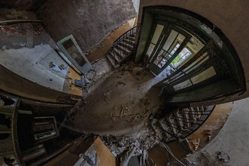 Tuchfabrik Treppenaufgang