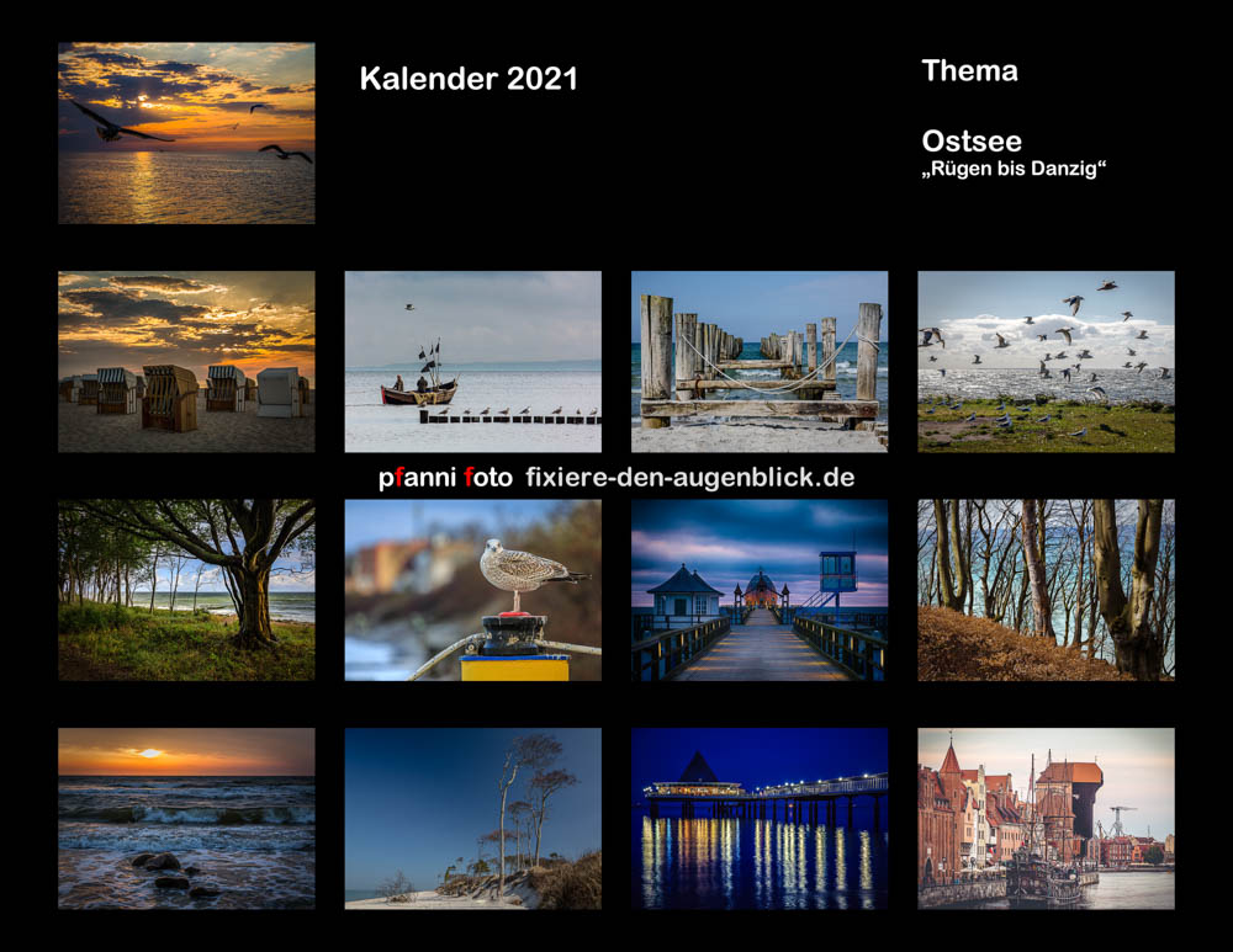 Kalender 2021 ist fertig